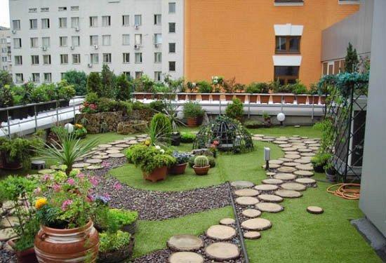 Zelen st echy a st e n zahrady for Pocket garden designs philippines