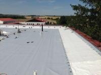 Oprava lepenkové střechy
